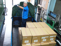Engine valve packing are delivered